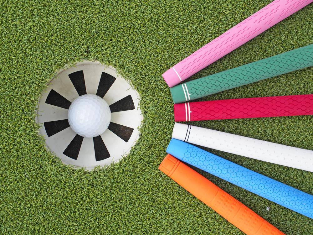 ゴルフグリップの種類