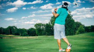 ゴルフスイング