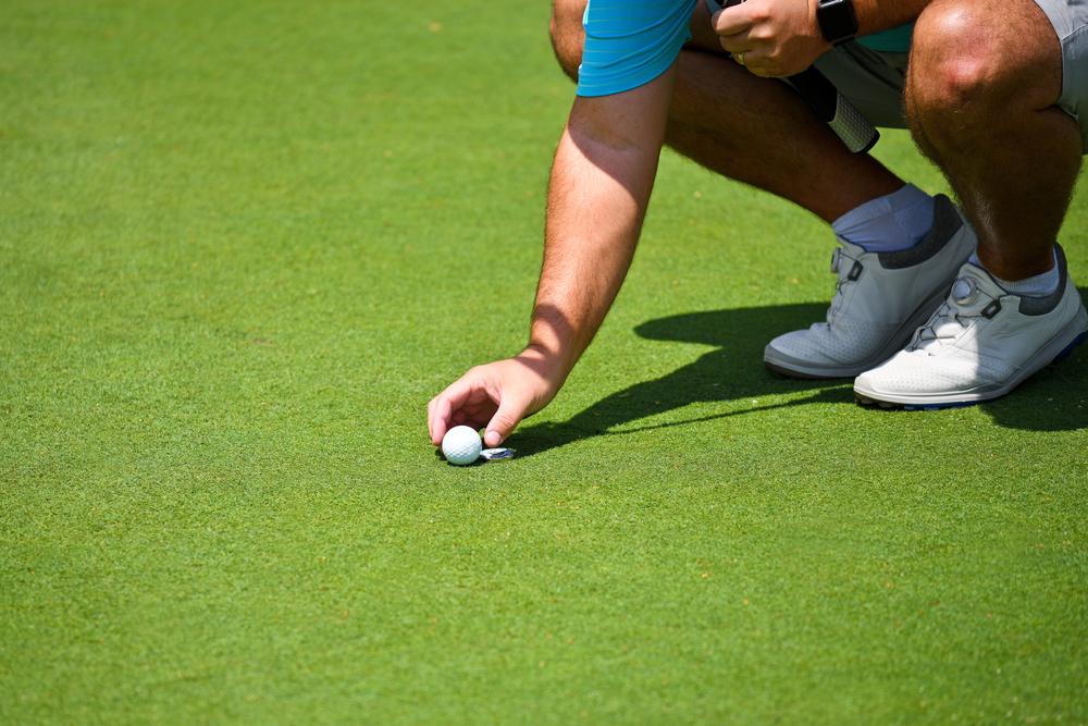 ゴルフマーカーの使い方