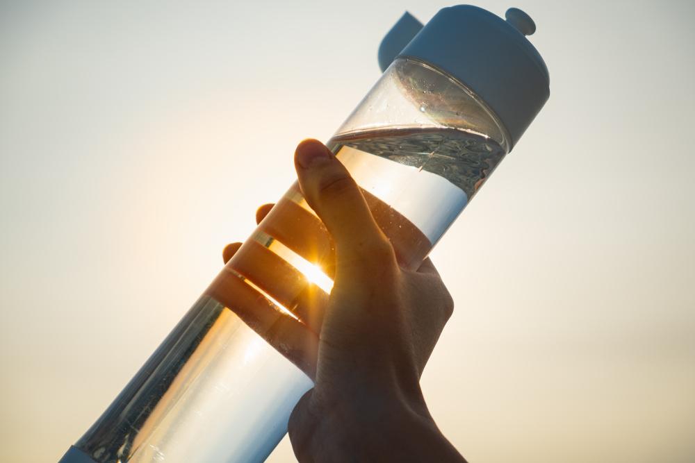 ラウンド時の水筒の選び方