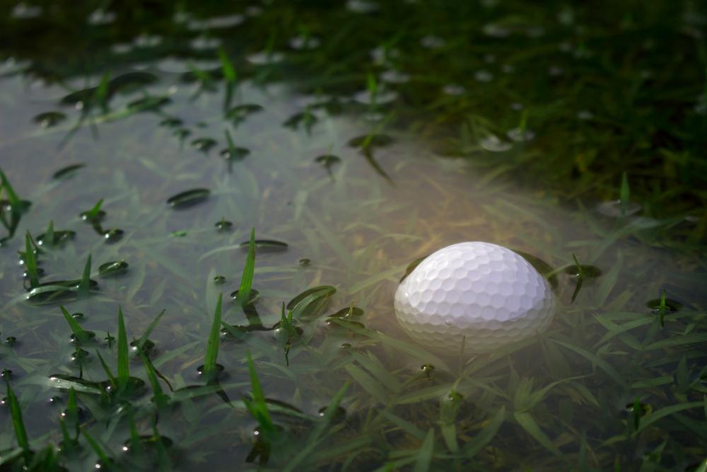 注意点!この場合、ゴルフボールは拭ける?
