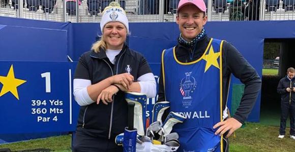 【カロリーネ・ヘドバル スイング】2019年最新ゴルフスイングをご紹介!