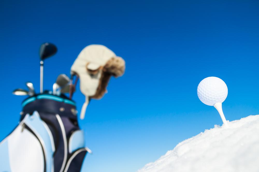 冬ゴルフの防寒対策:頭