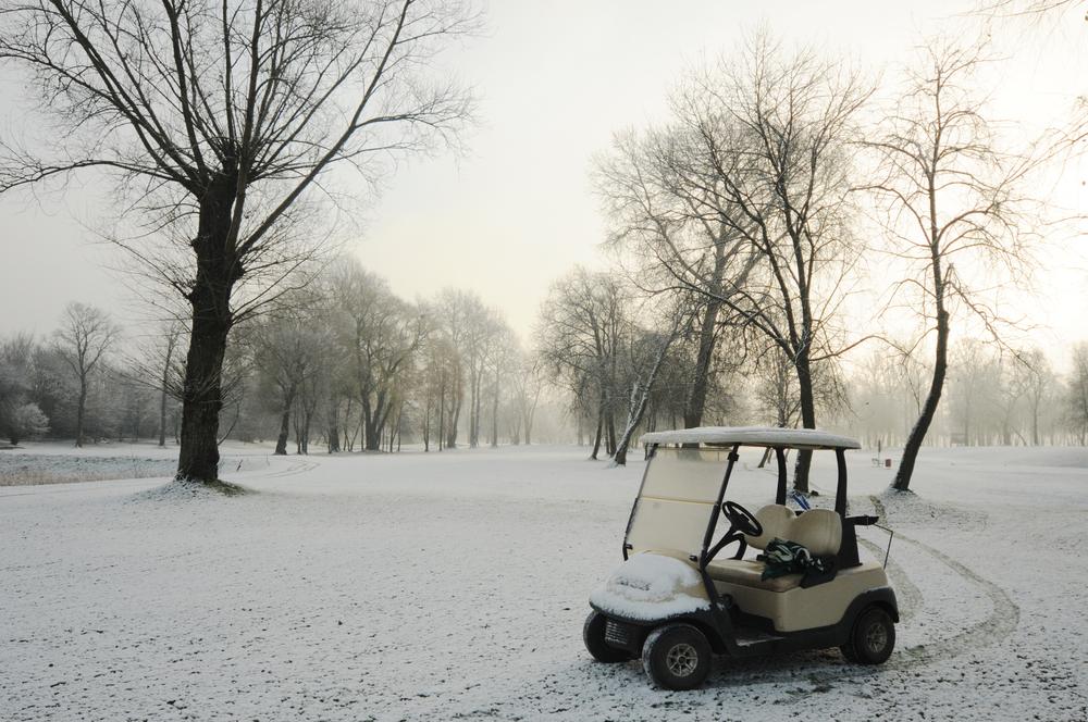 冬ゴルフの防寒対策:首